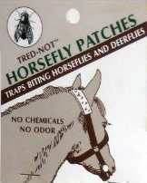 12/pk  Tred-Not Horsefly Patches image